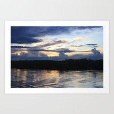 Amazonian Water Art Print