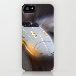The Bullet Train Tokyo iPhone Case