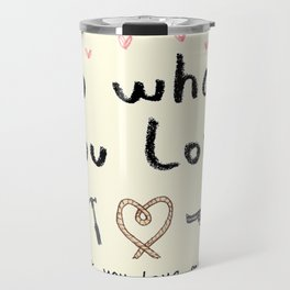 Motivational Poster Travel Mug