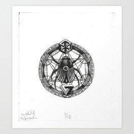 The Wheel of Reincarnation Art Print