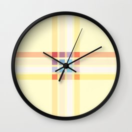 Retro Rocket 47 Wall Clock
