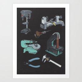Favorite Tools Art Print