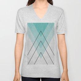 Minimalist geometry XIX Unisex V-Neck