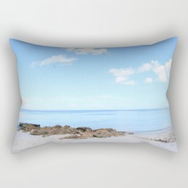 Naples Beach Rectangular Pillow