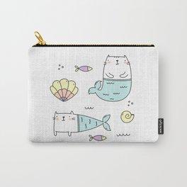 Ocean Merkitties Carry-All Pouch