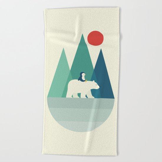 Bear You Beach Towel