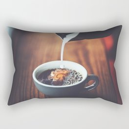 Dreams In My Coffee Rectangular Pillow