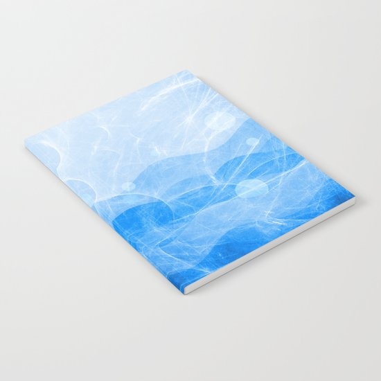 Energy Waves - Blue Version Notebook