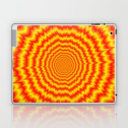 Big Bang in Red and Yellow Laptop & iPad Skin
