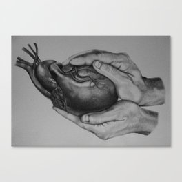 He Holds You Canvas Print