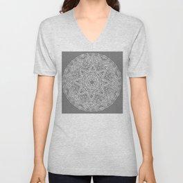 Family: forever intertwined (gray) Unisex V-Neck