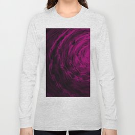 Organic Spiral - Purple Long Sleeve T-shirt