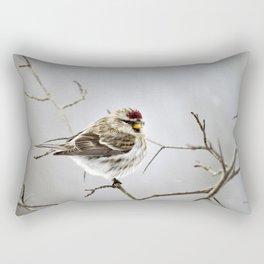 Solitary Bird Rectangular Pillow
