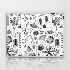 Inky Autumn Hedgerow Laptop & iPad Skin