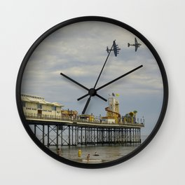 Paignton Pier Memorial Flight Wall Clock