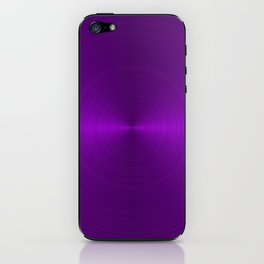 Metallic Purple iPhone Skin