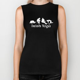 Irish Yoga Biker Tank