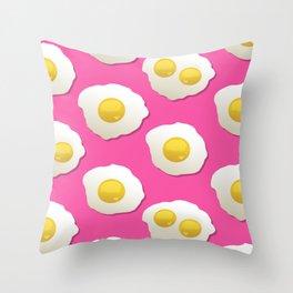 FOREVER Eggs Throw Pillow