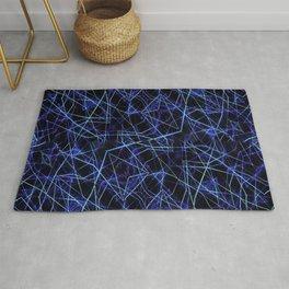 Galaxy Linear Pattern Rug
