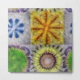 Mudcapped Feeling Flower  ID:16165-015150-26640 Metal Print