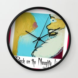 After All The Milk N' Cookies Wall Clock