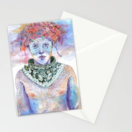 Armour and Lace Stationery Cards