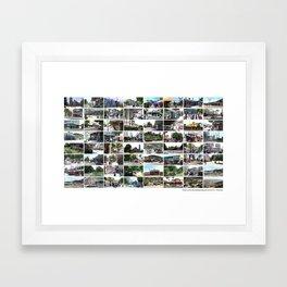 Christchurch, New Zealand before the Devastating Earthquake Feb 2011 Framed Art Print