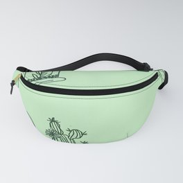 Plant wallpaper Fanny Pack
