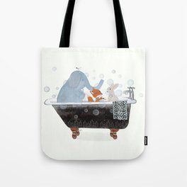 little bath time Tote Bag