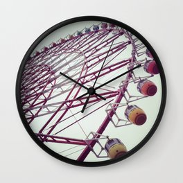 Rainbow Wheel Wall Clock