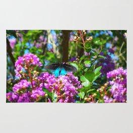Floral Print 089 Rug