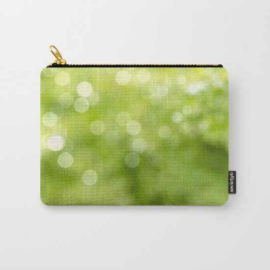 green bokeh Carry-All Pouch