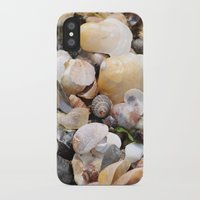 shells iPhone & iPod Cases featuring Shells by BACK to THE ROOTS