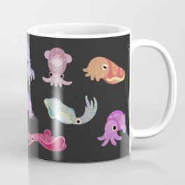 Squids - black Coffee Mug