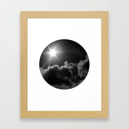 in transit Framed Art Print