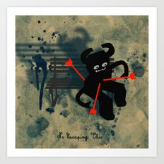 No Escaping This 5 Art Print