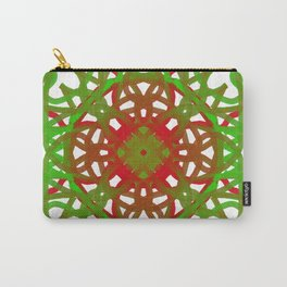 Faux Mandala Ornament Carry-All Pouch