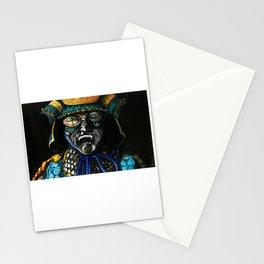 aqua mempo samourai Stationery Cards