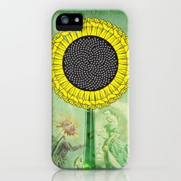 Sow Your Own Seed iPhone Case