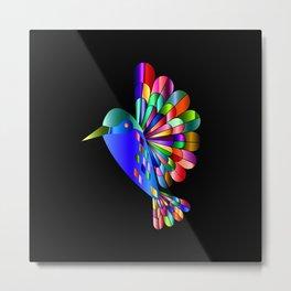 Colorful Flyer Metal Print