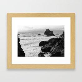 View from Sutro Baths - California Framed Art Print