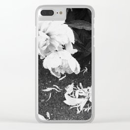 Let the Petals Fall Clear iPhone Case