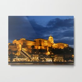 Budapest by night Metal Print