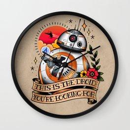 BB-8 Wall Clock