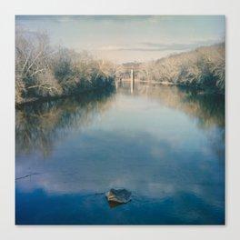 Monocacy River Square Canvas Print