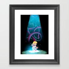 Tentacles Framed Art Print