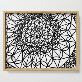 Doodle 12 Serving Tray