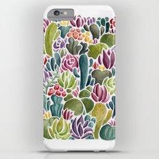 Succulent Forest iPhone 6 Plus Slim Case