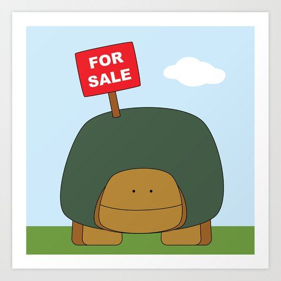 For Sale Art Print