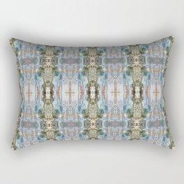 geometric skyline Rectangular Pillow